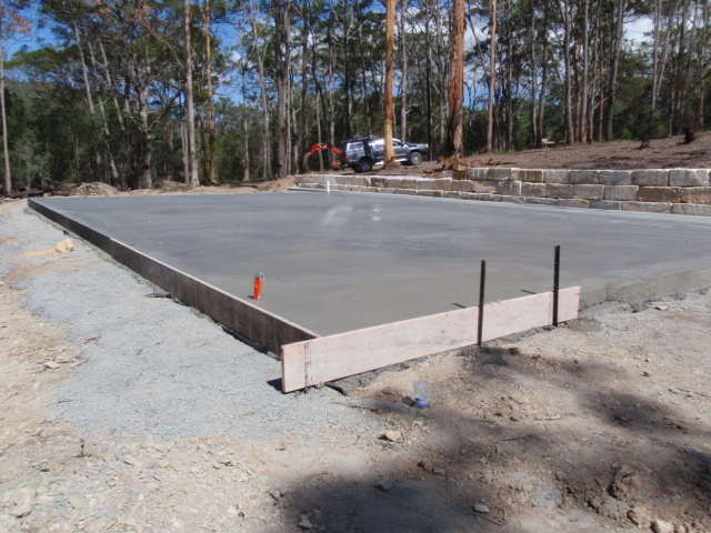 18 x 11 Shed Slab in Guanaba