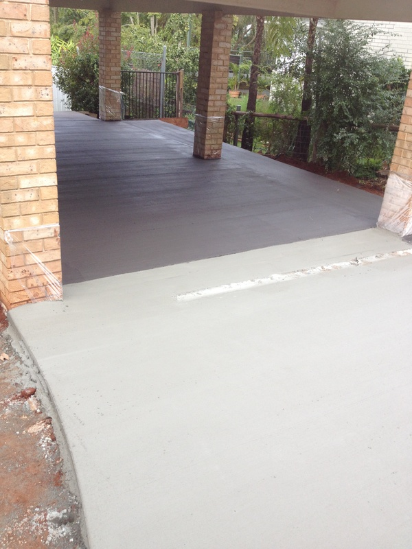 Carport done in Colour Black21